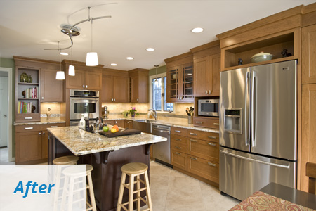 Construction Services West Hartford CT - Cabinet & Countertop Installation | Holland Kitchens & Baths - b2