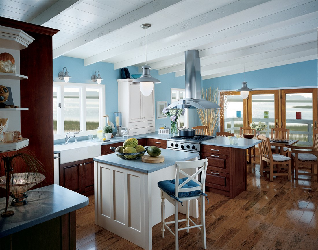 Kitchen Remodeling West Hartford CT - Custom Renovations | Holland Kitchen & Baths - Seaside_Cottage_R-2