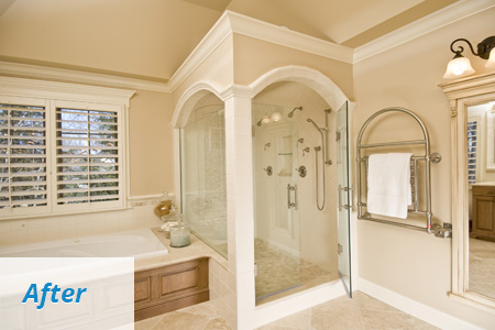 Bathroom Remodeling West Hartford CT - Renovation Experts | Holland Kitchens & Baths - after1